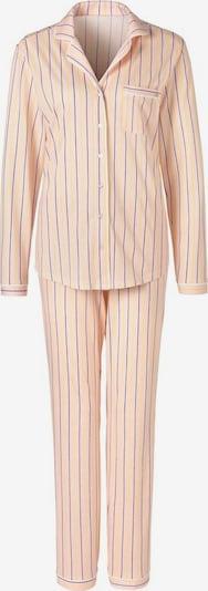 s.Oliver Pyjamas i marinblå / limone / ljusrosa, Produktvy