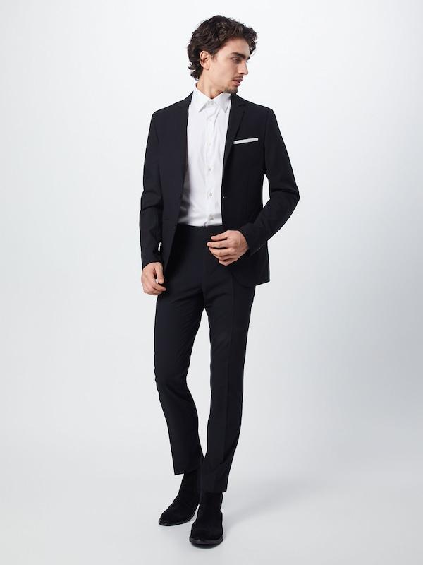 KIOMI Anzug 'Skinny Suit' in schwarz    Bequem und günstig fecf02