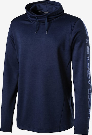 UNDER ARMOUR Sweatshirt 'MK1 Terry Funnel' in dunkelblau, Produktansicht