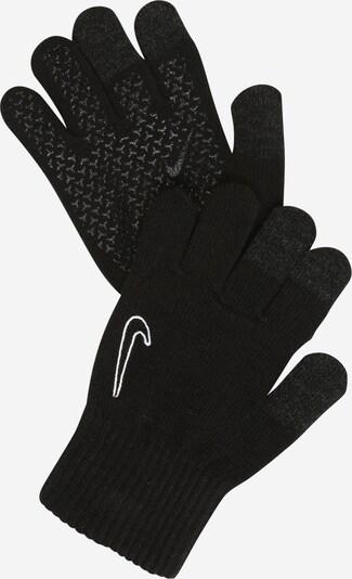 NIKE Accessoires Sporthandschuhe in schwarz / weiß, Produktansicht