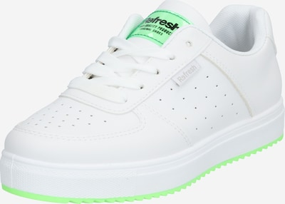 Refresh Sneaker in grün / weiß, Produktansicht