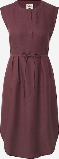 bleed clothing Kleid 'Linen Dress' in aubergine, Produktansicht