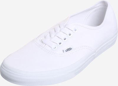 VANS Baskets basses en blanc: Vue de face
