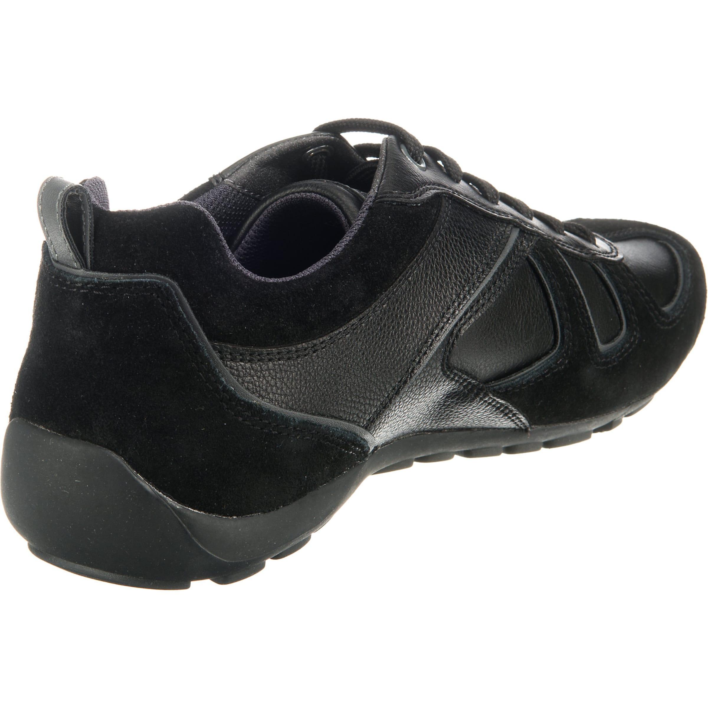 In Low 'u Ravex' Schwarz Geox Sneakers c3jSLqAR54