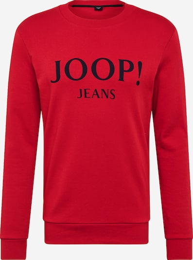Bluză de molton 'Alfred' JOOP! Jeans pe albastru noapte / roșu: Privire frontală