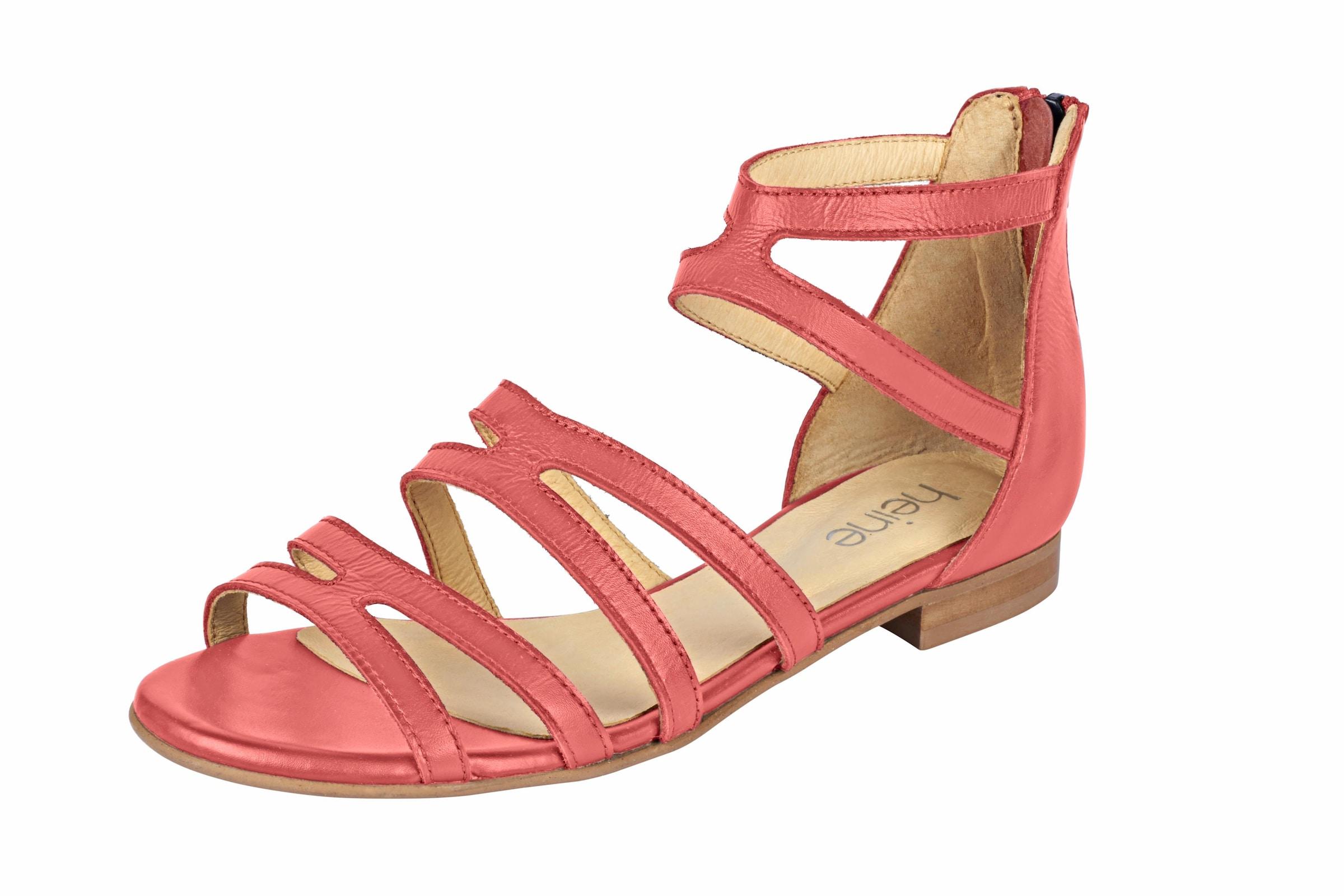 heine Sandalette mit Fesselriemchen Günstige und langlebige Schuhe
