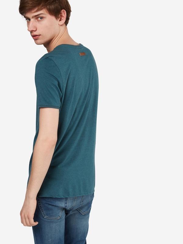 naketano T-Shirt in Melange-Optik