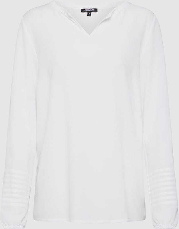 MORE & MORE Shirt in weiß  Markenkleidung für Männer und Frauen