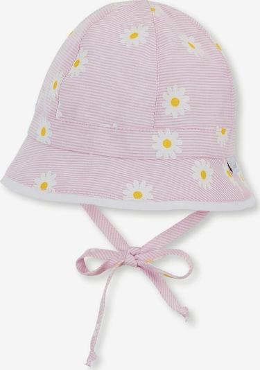 STERNTALER Sonnenhut in gelb / rosa / weiß, Produktansicht