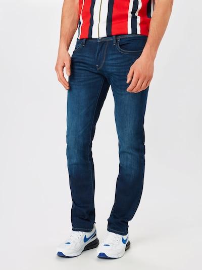 Pepe Jeans Jean 'Hatch' en bleu denim: Vue de face