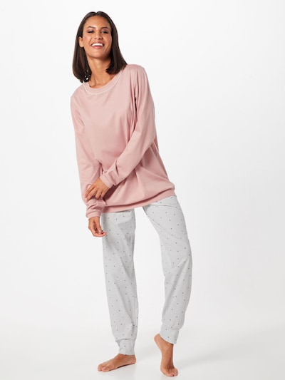 CALIDA Pyjama 'Sweet Dreams' in de kleur Rosé: Vooraanzicht