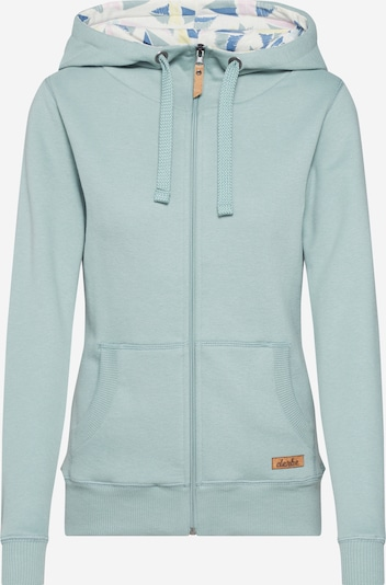 Derbe Sweatjacke 'Easy SAIL' in mint, Produktansicht