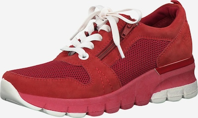 JANA Sneaker in karminrot, Produktansicht