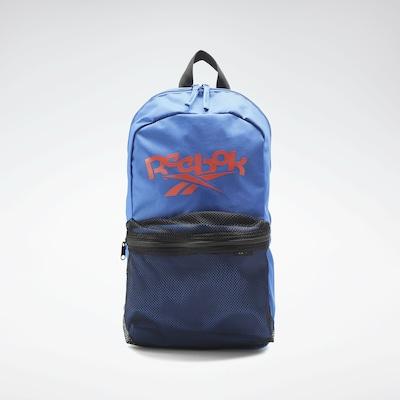 REEBOK Sportrucksack in blau / dunkelorange / schwarz, Produktansicht