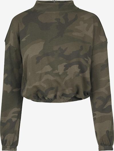 Urban Classics Sweatshirt in khaki / oliv, Produktansicht