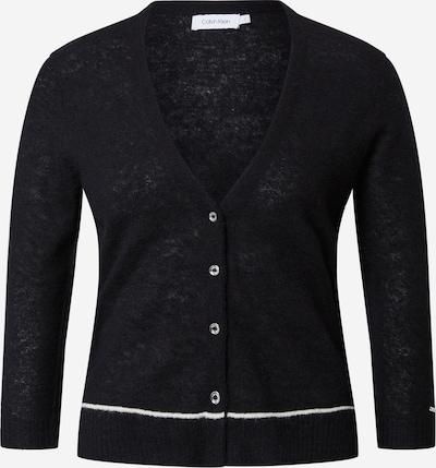 Calvin Klein Gebreid vest in de kleur Zwart / Wit, Productweergave