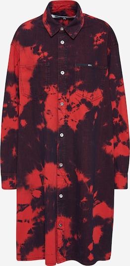 McQ Alexander McQueen Kleid 'Tatsuko Shirtdress' in rot, Produktansicht