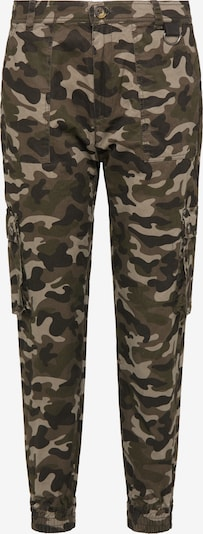 DreiMaster Vintage Cargo hlače u antracit siva / kaki / maslinasta, Pregled proizvoda