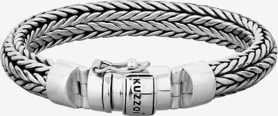 KUZZOI Bracelet 'Twisted' in Silver, Item view