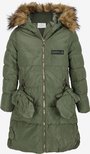 CIPO & BAXX Winterparka mit Abenteuerhandschuhen in grün, Produktansicht