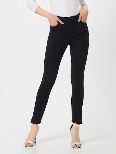 BOSS Pantalon 'Sachiara' en noir: Vue de face