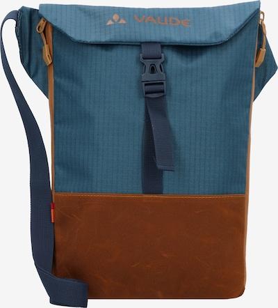 VAUDE Sporttas 'CityAcc' in de kleur Hemelsblauw / Oker, Productweergave