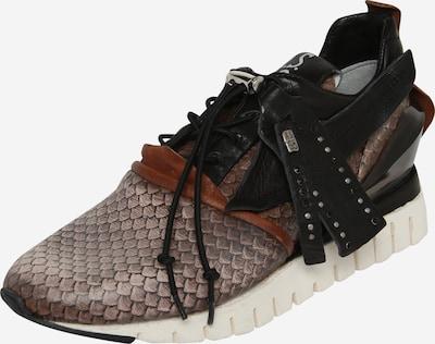 A.S.98 Sneaker 'Denastar' in braun / schwarz / weiß, Produktansicht