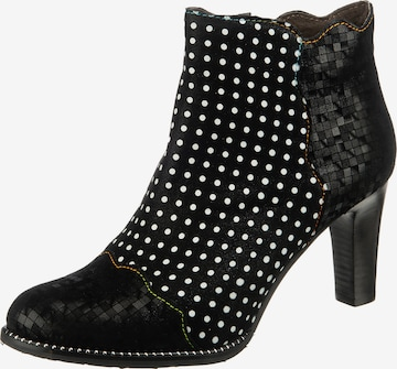 Laura Vita Booties 'Alcbaneo' in Black