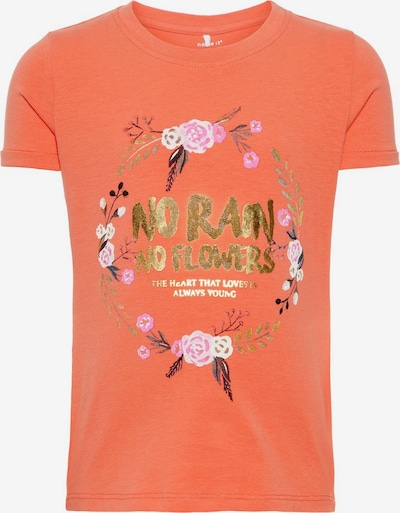 NAME IT T-Shirt in orange, Produktansicht