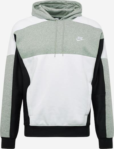 Nike Sportswear Bluzka sportowa w kolorze nakrapiany szary / czarny / białym, Podgląd produktu