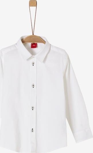 s.Oliver Junior Hemd in weiß, Produktansicht