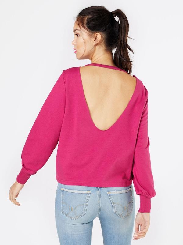even&odd Sweatshirt 'Cut Out Back'