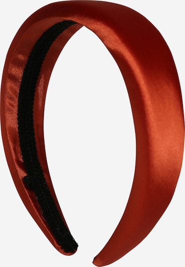 OBJECT Stirnband 'Objsateen Hairband 108' in rot, Produktansicht