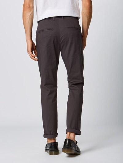 SELECTED HOMME Spodnie w kolorze antracytowym: Widok od tyłu
