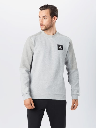 ADIDAS PERFORMANCE Sweatshirt in grau, Modelansicht