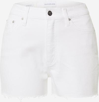Calvin Klein Jeans Kavbojke | bela barva, Prikaz izdelka