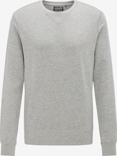 Petrol Industries Sweatshirt in hellgrau: Frontalansicht