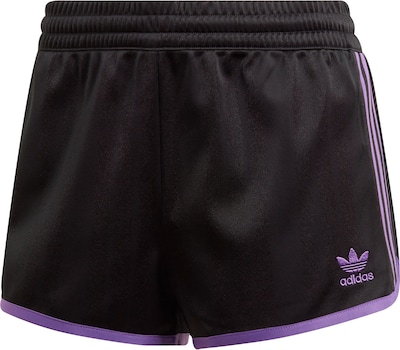 ADIDAS ORIGINALS Shorts ' W ' in schwarz, Produktansicht