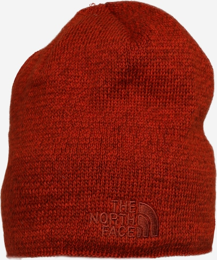 THE NORTH FACE Bonnet en orange / rouge orangé, Vue avec produit