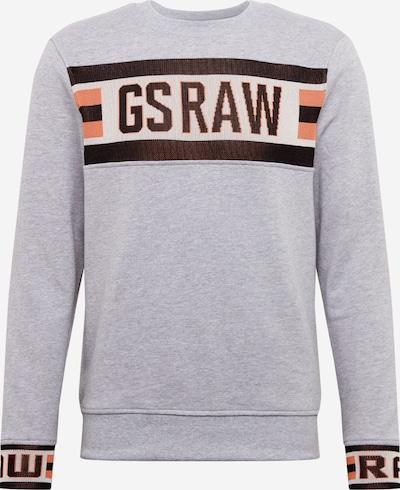 G-Star RAW Sweatshirt in braun / grau, Produktansicht