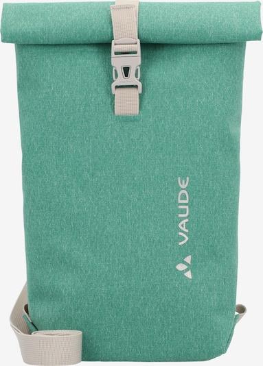 VAUDE Sporttas 'Egg' in de kleur Grijs / Groen, Productweergave