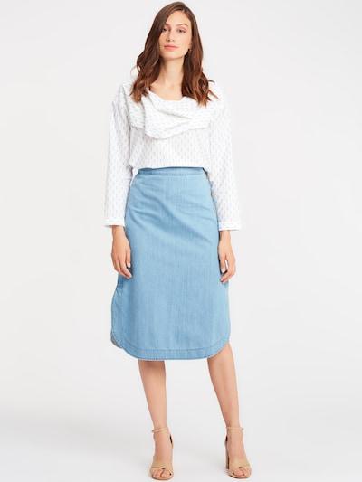 SoSUE Bluse in rauchblau / weiß, Produktansicht