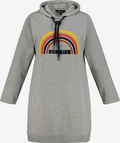 Ulla Popken Robe en gris clair / mélange de couleurs, Vue avec produit