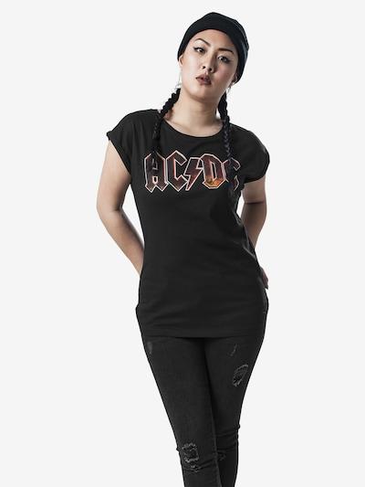 Merchcode Shirt in de kleur Zwart: Vooraanzicht