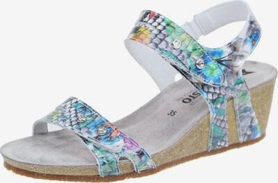 MEPHISTO Sandale in blau / mischfarben, Produktansicht