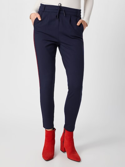 ONLY Spodnie 'POPTRASH EASY DUO MIX PANEL' w kolorze niebieska nocm: Widok z przodu