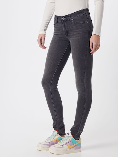 LEVI'S Jeans '711' in grey denim, Modelansicht