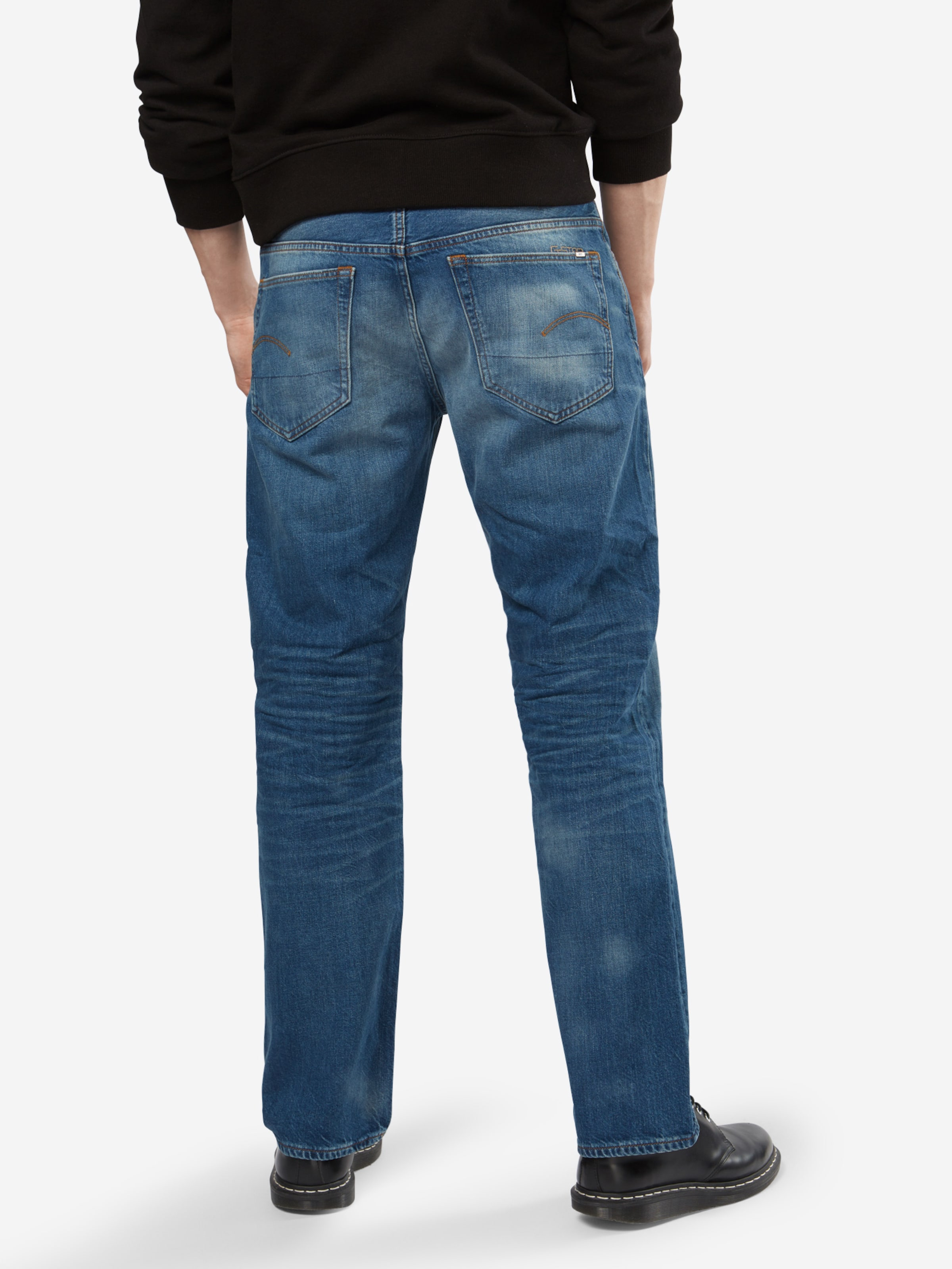 Raw Denim '3301 G In Loose' Jeans Blue star WDIeYH29E