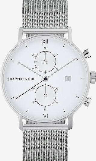 Kapten & Son Analogové hodinky 'Small Chrono Mesh' - stříbrná, Produkt