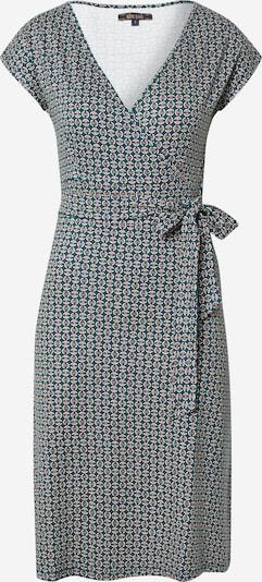 King Louie Kleid in dunkelgrün / pink / weiß, Produktansicht